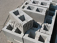 Блок бетонный 400х200х200  Т. стеновой, фото 1