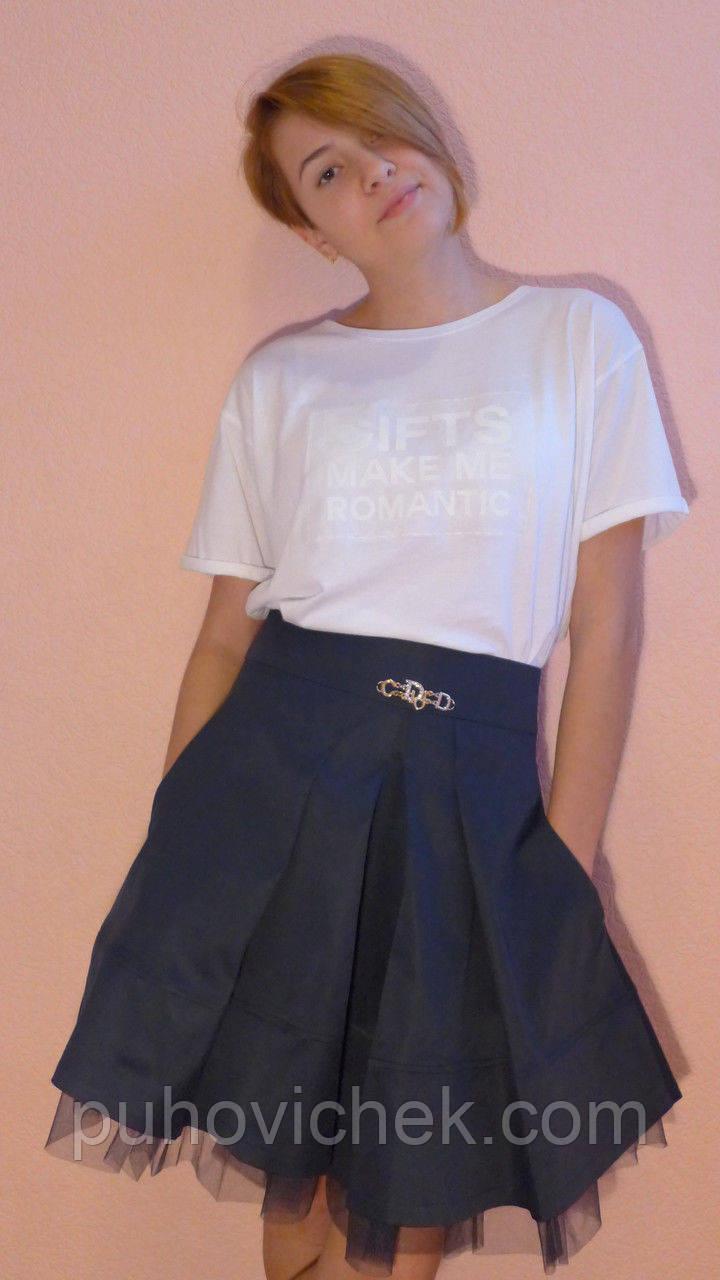 Модная юбка для девочки подростка
