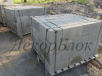 Блок бетонный 400х200х200  Т.п. стеновой