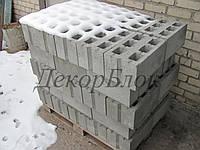 Блок бетонный 400х200х250  Т. стеновой