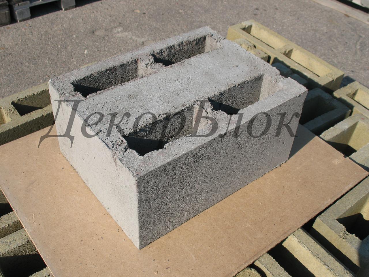 Блок бетонный 400х200х300  Т. стеновой