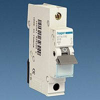 Автоматичний вимикач Hager In=16А, 1п, С, 10 kA, 1м