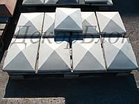 "Крышка для столба забора ""Пирамида"", фото 1"