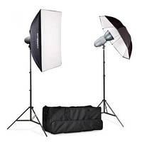 Комплект освещения вспышкой Powerlux VL-200-Set лампы VL Plus Powerlux
