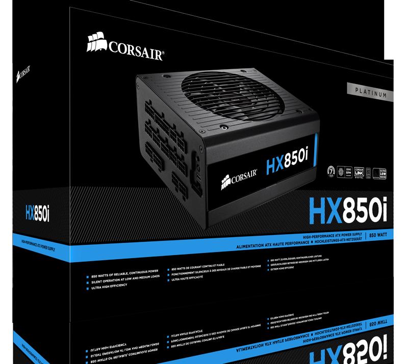 Блок питания Corsair HX850i (CP-9020073)