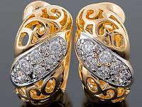 Серьги Xuping Gold