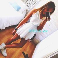 Женское платье шифоное короткое а51