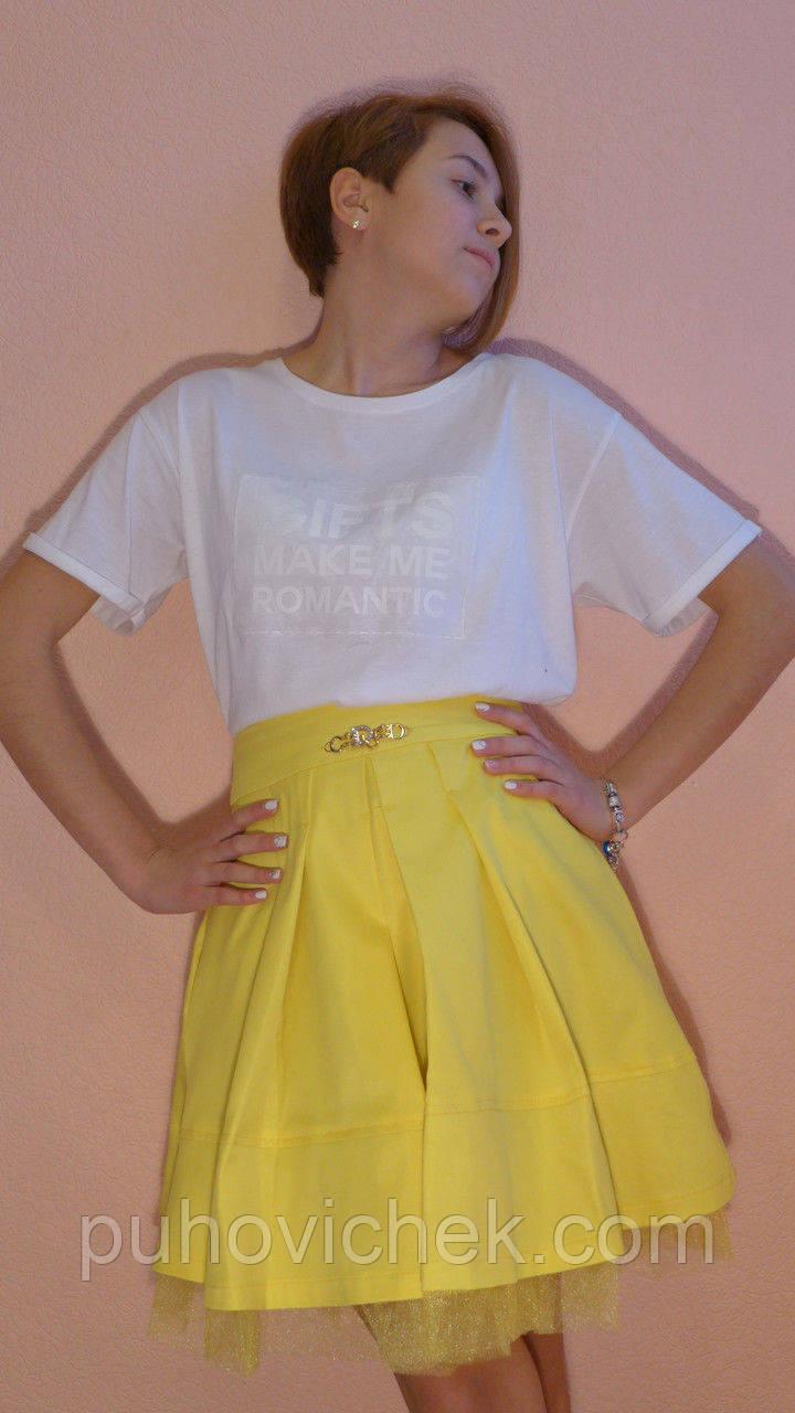Летняя юбка для девочки подростка