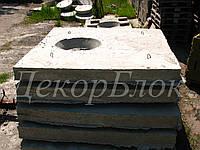 Крышка бетонная для колодца ПП 15-1