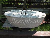 Люк - пробка бетонный ЛК