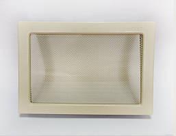 Решетка каминная крашеная, 22х30 см