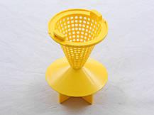 Пластиковый конусный фильтр сетка-циклон для пылесоса LG (4814FI2003A), фото 3