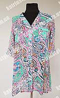 Оригинальная женская блуза-туника на лето
