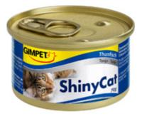 Консервированный корм для кошек с тунцом Шайни Кэт,70г