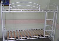 """Металлическая двухъярусная кровать  """"Эрго"""""""