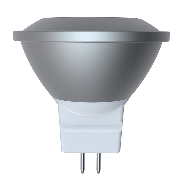 LED лампа Electrum MR11 LR-1 2W 12V GU4 4000K алюминиевый корпус