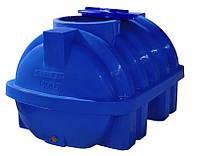 Пластиковый бак Euro Plast горизонтальный 1000 литров RG 1000 Р/ребро