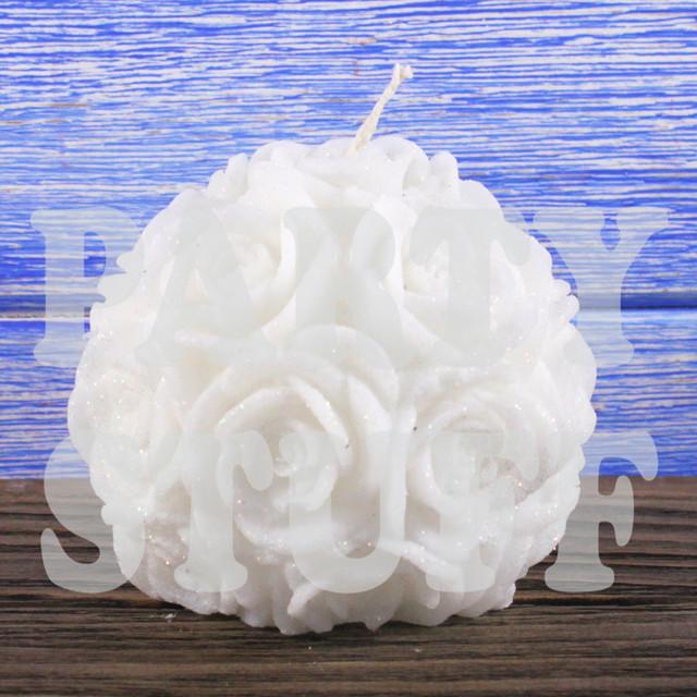 свеча свадебная круглая