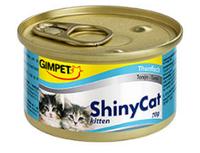 Консервированный корм для котят с тунцом Шайни Кэт,70г