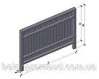 Панель огорожі ЗП400-2