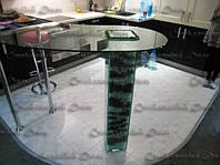 Барные стойки со стеклянной ногой, фото 1