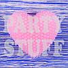 Свеча декоративная Розовое сердце, 5 см