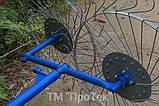 """Грабли тракторные """" Солнышко"""" на 4 колеса(прутки 5 мм), фото 6"""