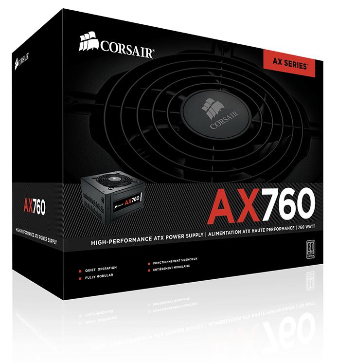 Блок питания Corsair AX760 (CP-9020045)