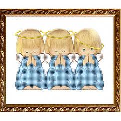 """Рисунок на ткани """"Три Ангелочка (Почти идеальный)"""" VKA5009 ArtSolo"""