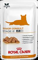 "Сухой корм для кошек Royal Canin ""SeniorConsultStage2WET"""