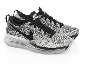 "Кроссовки Nike Air Max Flyknit ""Black/Cool Grey"""
