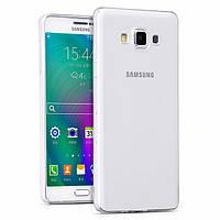 Чехол силиконовый Ультратонкий Epik для Samsung A700H Galaxy A7 Прозрачный