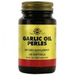 Чесночное масло Перле ( Garlic Oil Perles) обладает антитоксическими свойствами (100шт,Солгар,США)