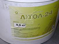 Литол-24 гост Экстра КСМ-ПРОТЕК (ведро 9кг). Смазка
