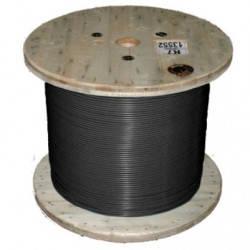Обогрев кровли и водосточных труб нагревательный одножильный отрезной кабель   TXLP BLACK DRUM