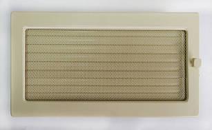 Решетка крашеная для камина с жалюзи, 22х37 см