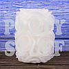 Свадебная свеча Роза белая, 8 см