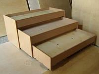 Кровать 3-ярусная телескопическая, фото 1