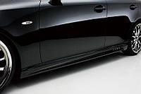 """Накладки на пороги Lexus IS 250 """"Wald"""", Лексус ИС 250, фото 1"""