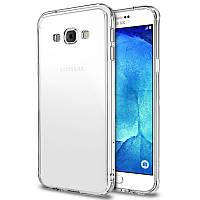 Чехол силиконовый Ультратонкий Epik для Samsung Galaxy A8 Duos A800 Прозрачный