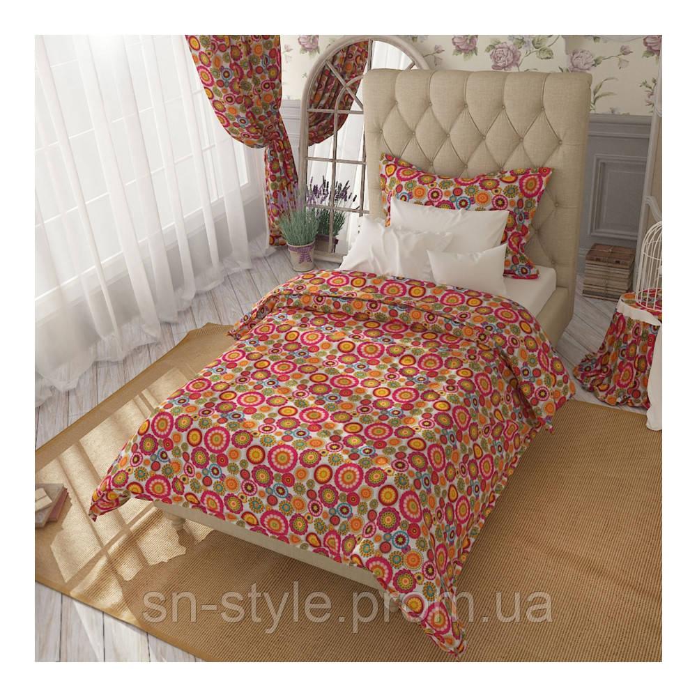 Ткань для штор и мебели круги
