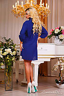 Практичное и универсальное платье рубашечного покроя, электрик