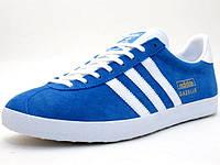 Мужские кроссовки Adidas Gazelle Blue, фото 1