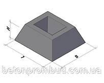 Фундамент панелей огорожі ФЗП 1-1