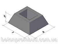 Фундамент панелей ограждения ФЗП 1-1
