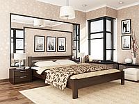 Деревянная односпальная полуторная двуспальная кровать Рената Estella