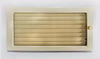Решетка каминная крашенная Kratki с жалюзи, 22x45 см
