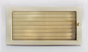 Решетка каминная крашенная с жалюзи, 22x45 см
