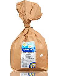 Органический стиральный порошок-концентрат SODASAN Compact Color 5 кг