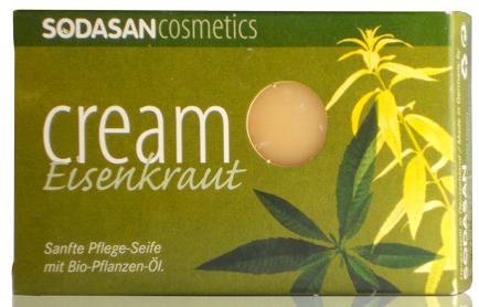 Мыло-крем SODASAN oрганическое Verbena для лица с маслами Ши и Вербены 100 г, фото 2